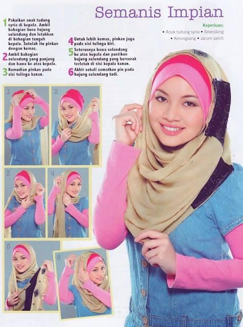 selendang hijab cantik