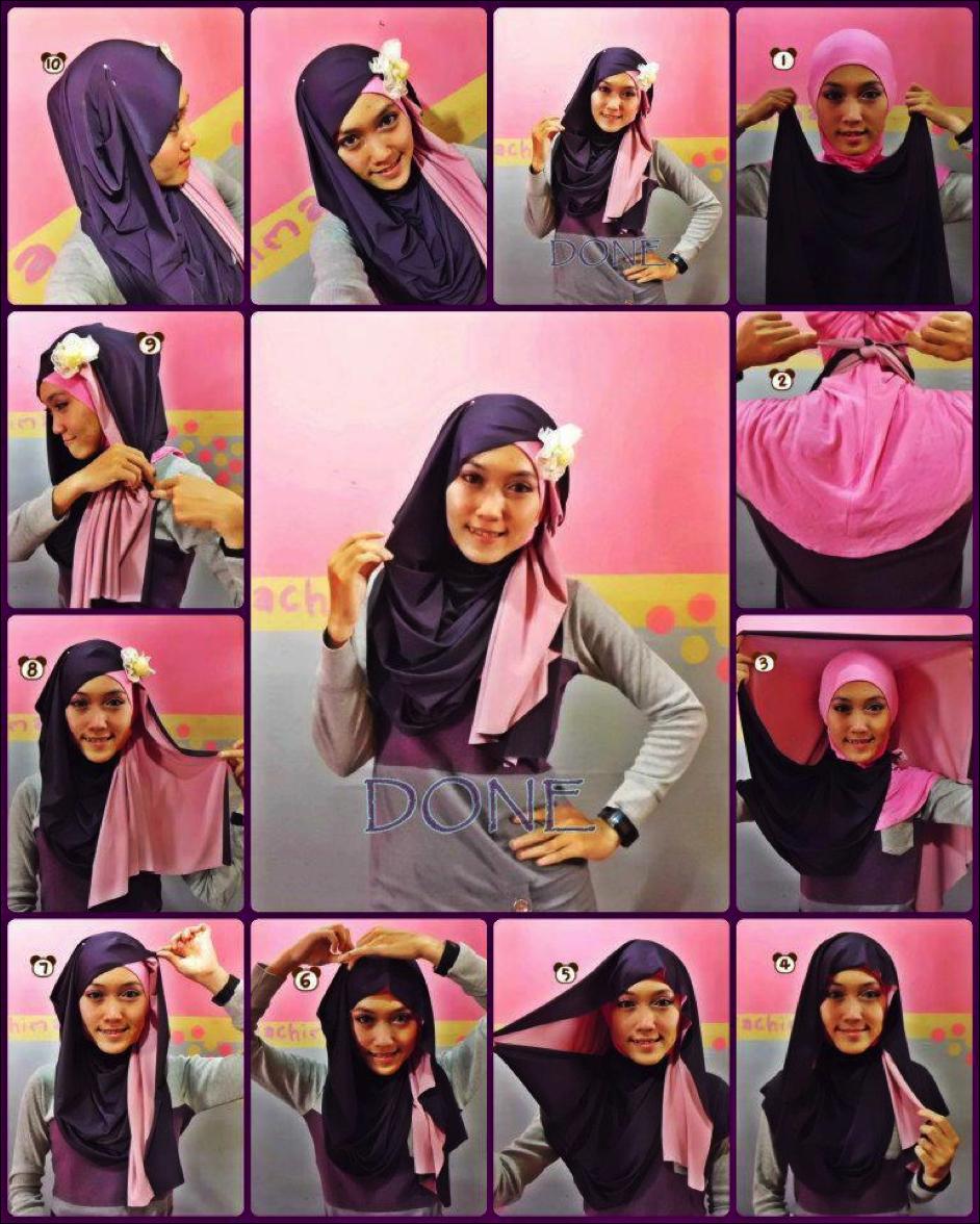 Tutorial Hijab Pashmina Untuk Jalan Jalan Tutorial Hijab Paling