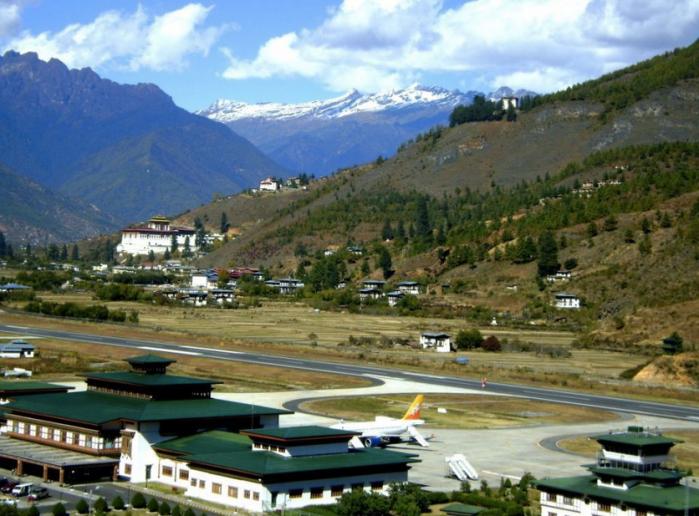 Paro Airport - Bhutan