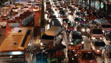kota dengan kemacetan terparah