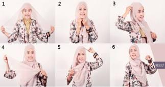 tutorial jilbab terbaru