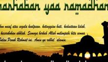 Ucapan puasa ramadhan dan lebaran