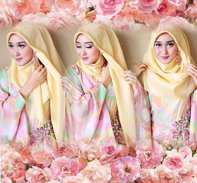 tutorial hijab terbaru desember 2015