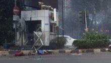 ledakan di pos polisi thamrin