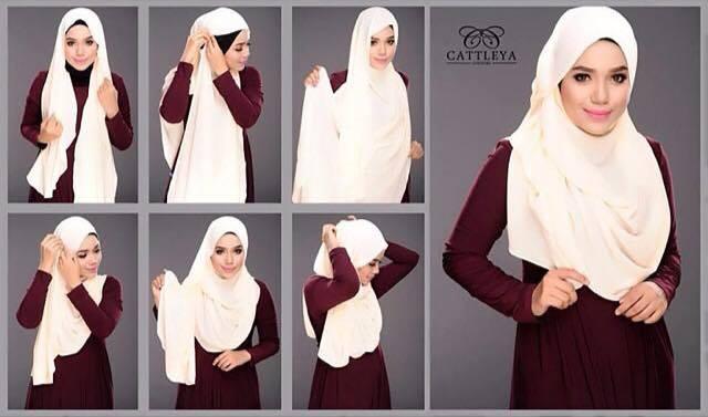 tutorial hijab terbaru 16