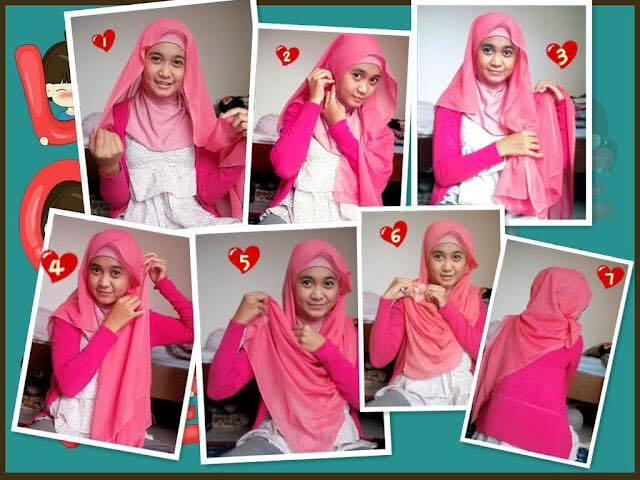 tutorial hijab terbaru 17