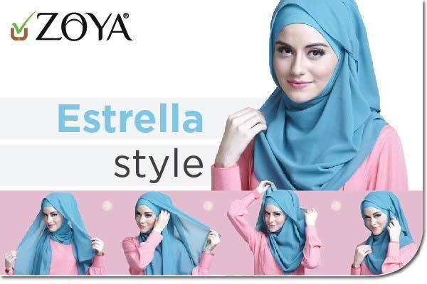 tutorial hijab terbaru 21