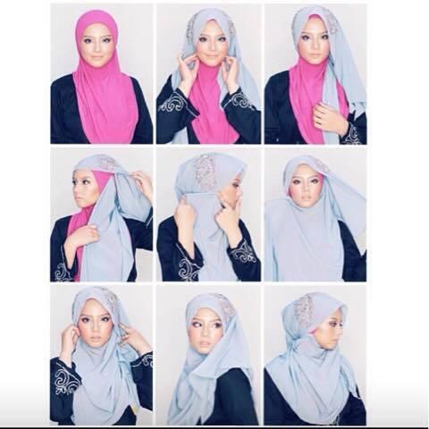 tutorial hijab terbaru 24