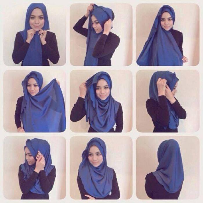 tutorial hijab terbaru 26