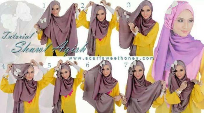 tutorial hijab terbaru 28