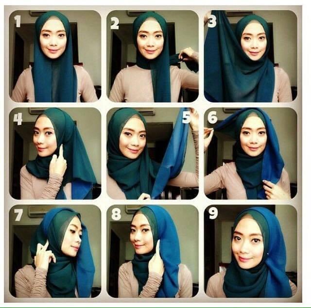 tutorial hijab terbaru 29