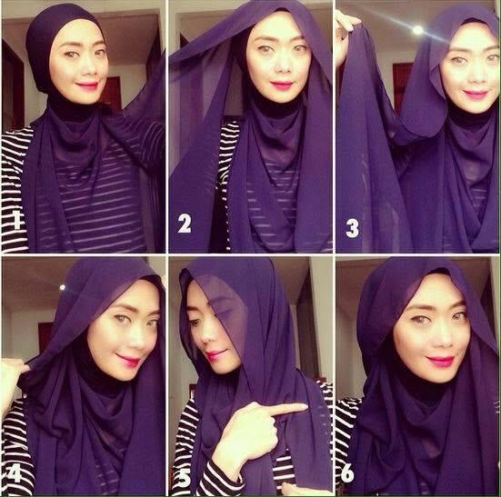 tutorial hijab terbaru 31