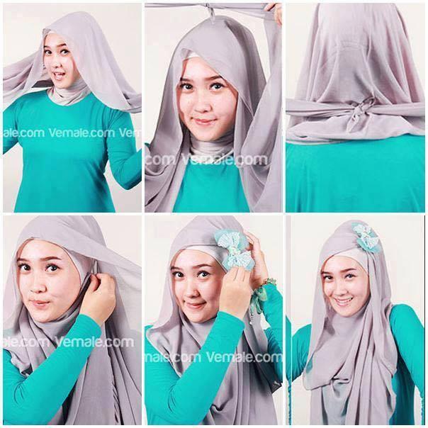 tutorial hijab terbaru 32