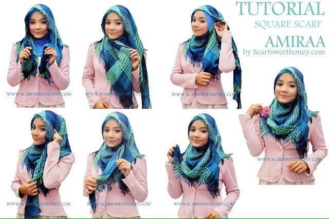 tutorial hijab terbaru 33
