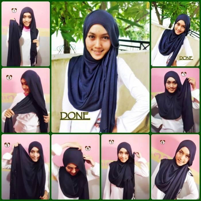tutorial hijab terbaru 36