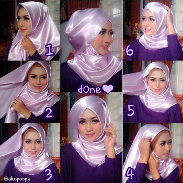 tutorial hijab terbaru 39