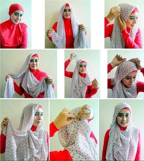 tutorial hijab terbaru 4