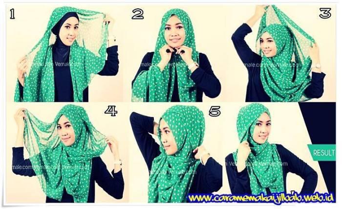 tutorial hijab terbaru 40