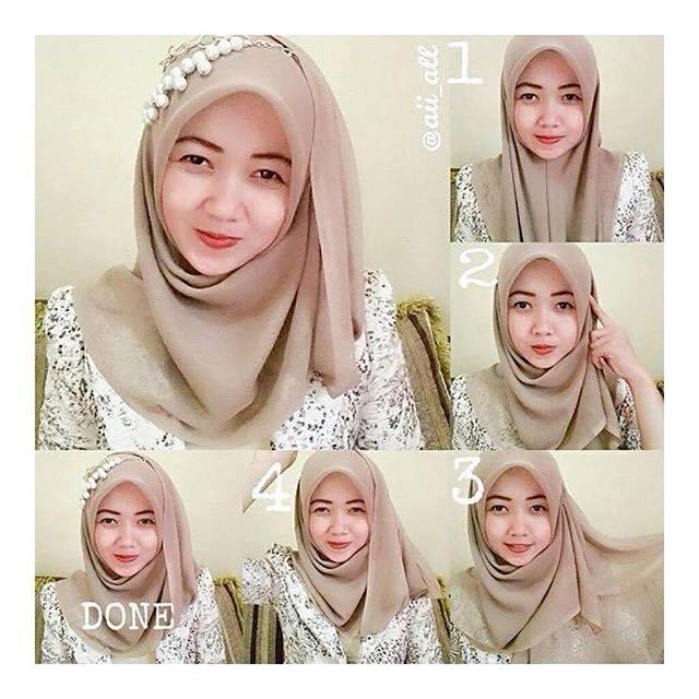 tutorial hijab terbaru 42