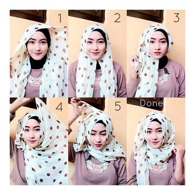 tutorial hijab terbaru 43