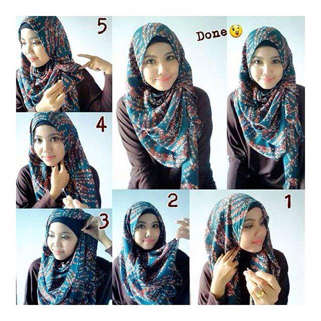 tutorial hijab terbaru 44