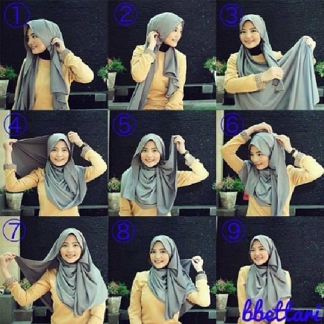 tutorial hijab terbaru 48