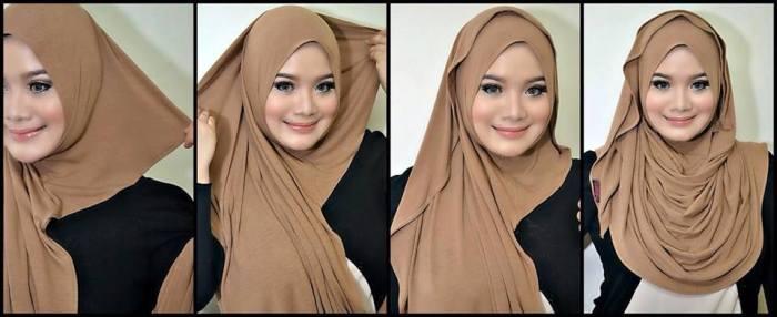 tutorial hijab terbaru 53