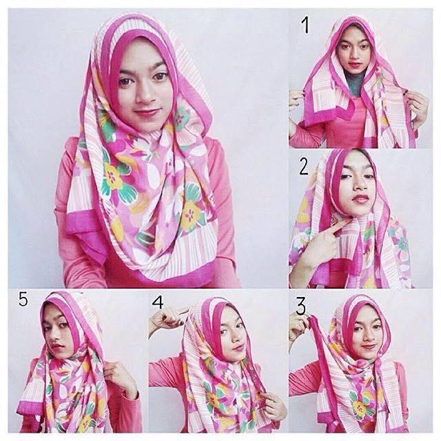 tutorial hijab terbaru 54