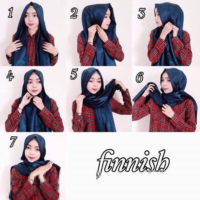 tutorial hijab terbaru 55