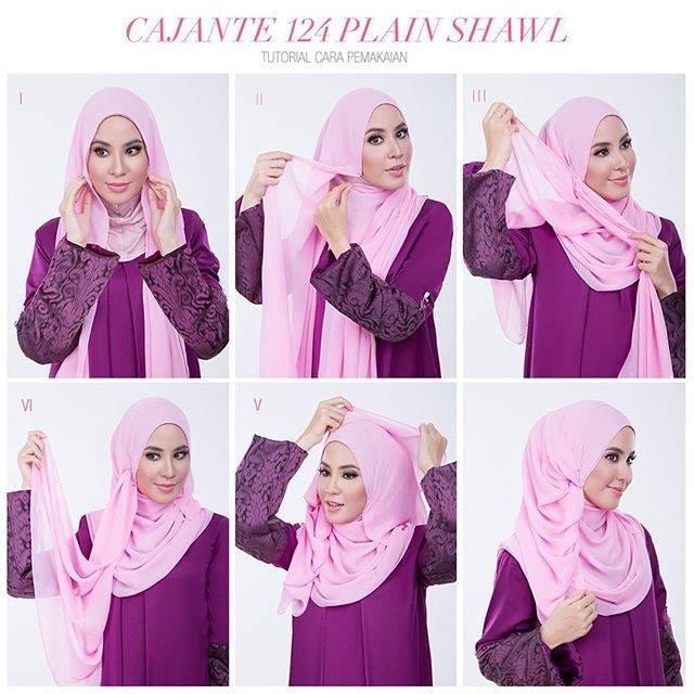 tutorial hijab terbaru 9